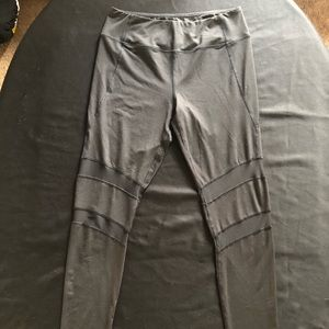 Pants - Leggings with mesh insert